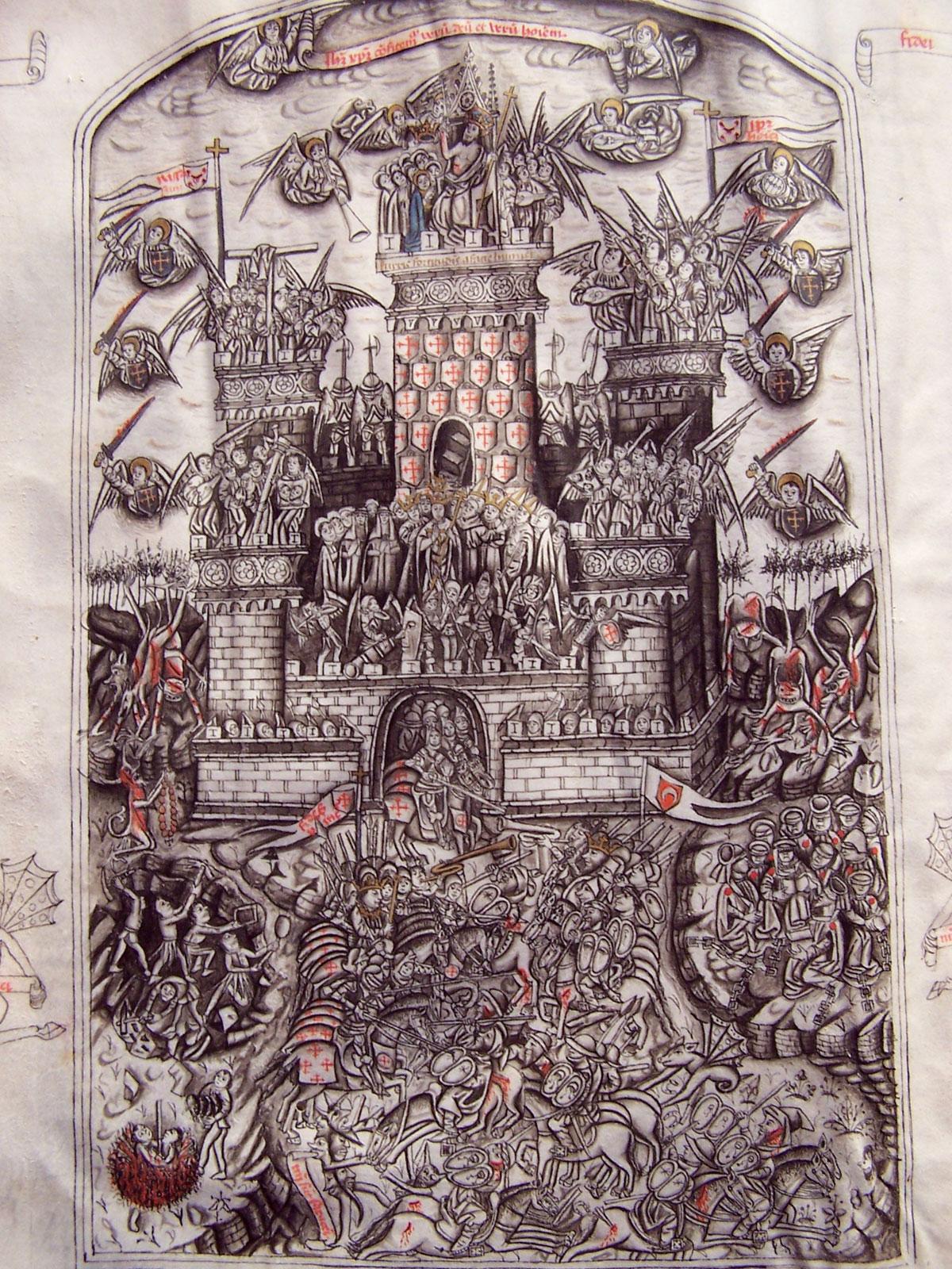 Alonso de Espina, Fortalitium fidei, 1464, Burgo de Osma, Biblioteca y archivo capitular, ms. 154