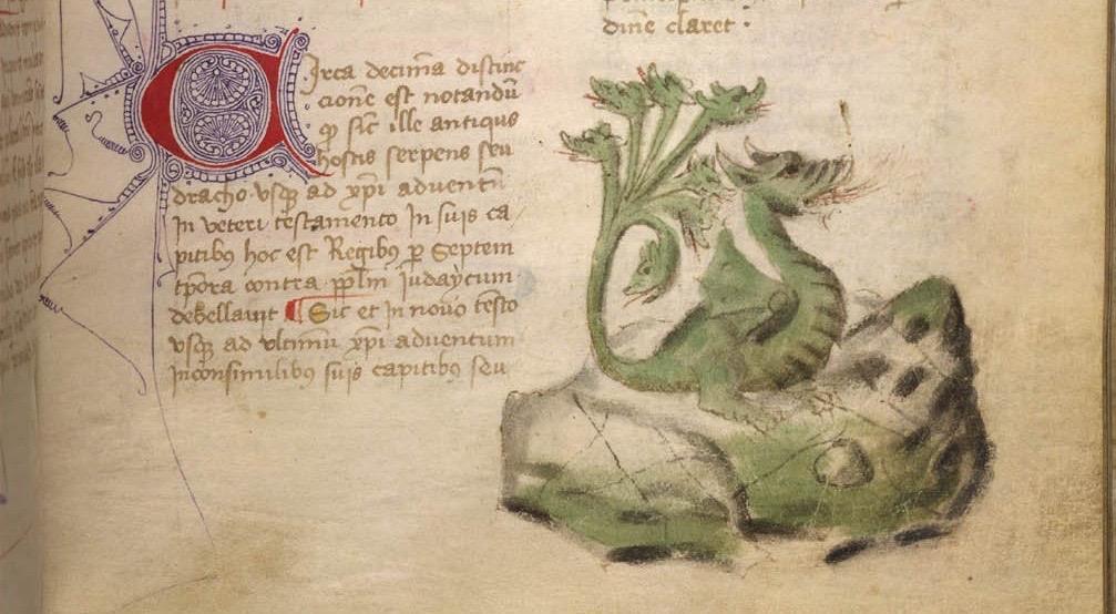 Joachim de Flore, Liber Concordiae Novi ac Veteris Testamenti (Barcelone, 15e s.), Egerton 1150 f 51