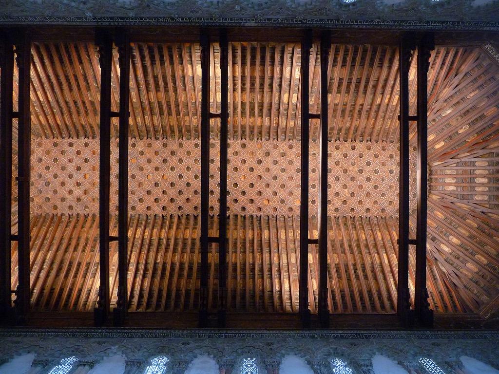 """Synagogue """"del transito"""", Tolède (Espagne), photo de Paulo Valdivieso sur Flickr, 2009"""