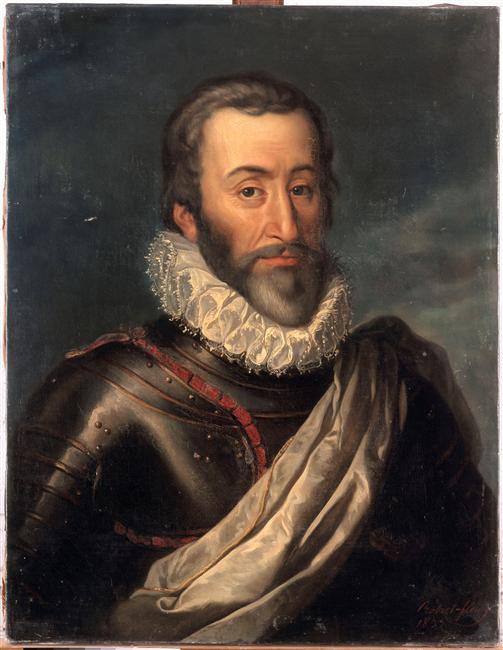 François de Bonne (1543-1626) duc de Lesdiguières, abjura en 1622 et devint connétable de France (source : Wikipedia)