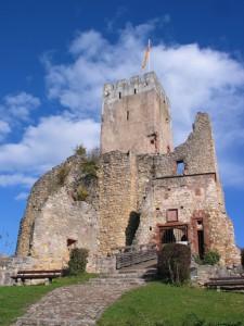 Burgruine Rötteln, Foto aus dem Archiv Röttelnbund e.V. Haagen