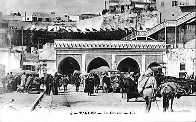 Douane et fortification de Tanger