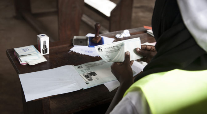 n° 144 – Matérialités du vote