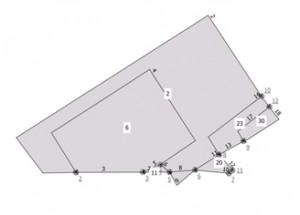 topologie de test_1.shp avec une tolérance de 5 degrés