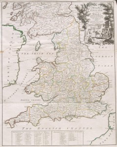 English Atlas of Geography 1733
