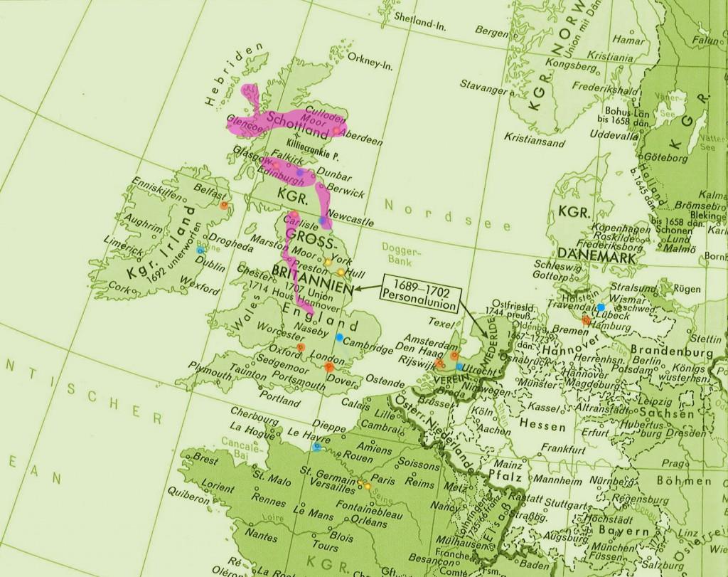1745_England Jacobite Rising