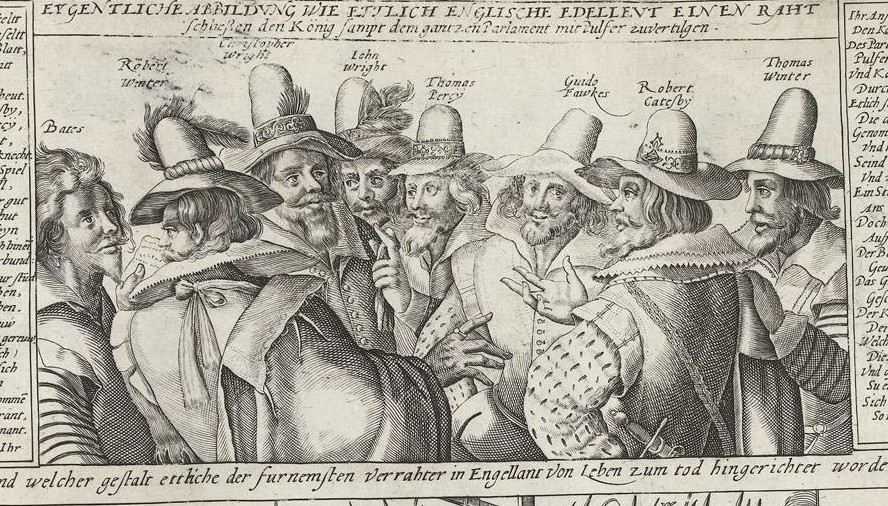 the gunpowder plot essay