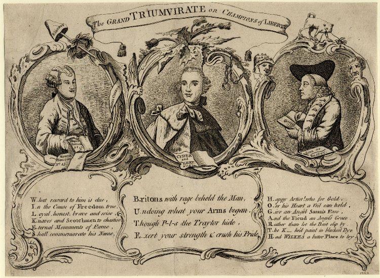 The Grand Triumvirate 1763