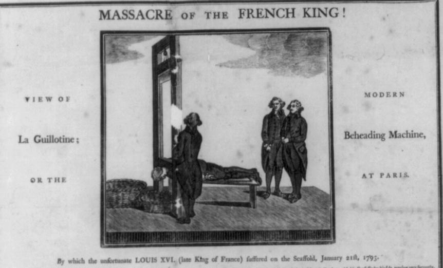 massacre of french king CUT