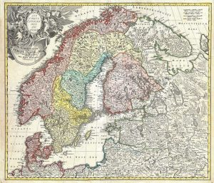 1050px-1730_Homann_Map_of_Scandinavia,_Norway,_Sweden,_Denmark,_Finland_and_the_Baltics_-_Geographicus_-_Scandinavia-homann-1730