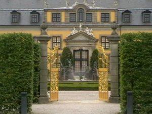 Das fürstliche Schloss Herrenhausen in Hannover