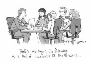 Prophylaxie anti-buzz (source : J. Longo, URL : http://biggerthanpangea.wordpress.com/tag/office-humor/)