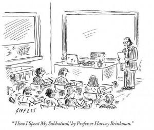 La réflexivité en action ? (source : David Sipress, New Yorker, 2012)