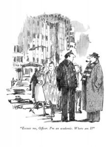 Interpellation (source : Robert Weber, The New Yorker, 1981)
