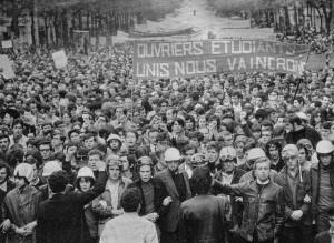 13 Mai 68 dans les rues de Paris (Copyright : LCR SAP, via Flickr)