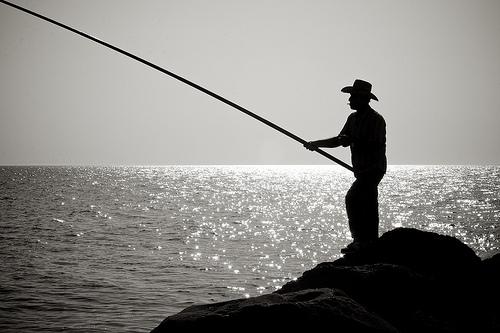 Pêche aux références (crédits : Thomas Leuthard, 2010, via Flickr)
