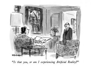 Réalité ou pas, dilemme de prisonniers (source : via The New Yorker)
