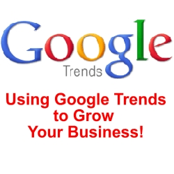 Google Trends, definitely trendy for business (source : WSI Global Reach)