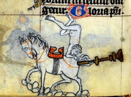 'The Maastricht Hours', Liège 14th century (crédits : http://discardingimages.tumblr.com/).
