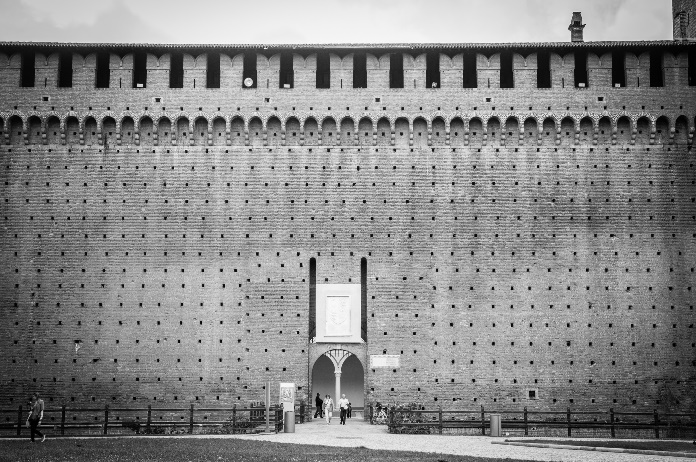 Castello Sforzesco, Milan (crédits : jvanattenhoven, 2013, via Flickr)