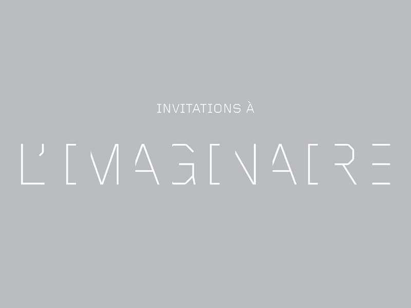 Carton d'invitation à l'imaginaire (crédits : Fondation d'Entreprise Ricard)