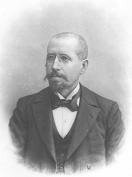 Gaston Darboux (crédits : tiré de l'ouvrage Ernest Lebon, Gaston Darboux, Gauthier-Villars, 1910, via Wikimedia Commons)