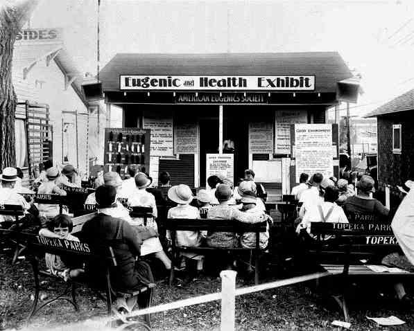 Garden party eugéniste. États-Unis, ca. 1930s (source : scientiasalon.wordpress.com)