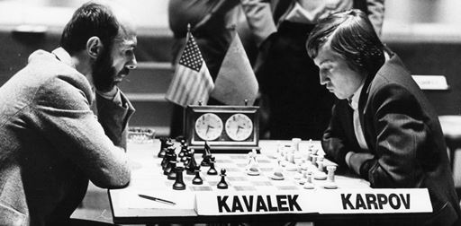 Karpov versus Kavalek, à Bueno Aires en 1980 (source : http://www.huffingtonpost.com/lubomir-kavalek/pitching-a-perfect-chess_b_926418.html)