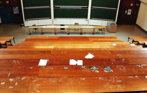 Campus universitaire de Jussieu (crédits : KROD/SIPA, via http://leplus.nouvelobs.com/)