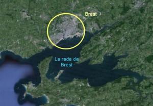 Brest et la rade