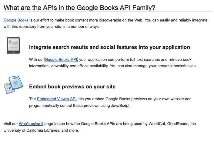 L'API de Google pour Google Books n'a pas d'équivalent pour Scholar