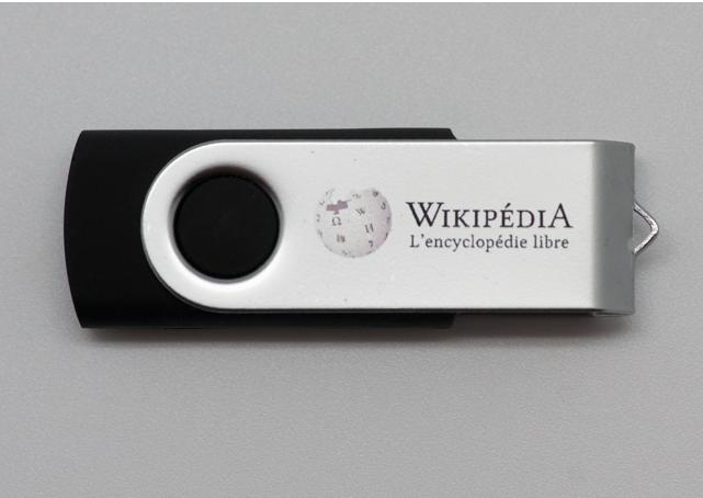 Si Wikipédia était sous une licence CC-NC, cette framakey n'aurait pas pu voir le jour