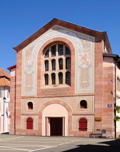 http://en.wikipedia.org/wiki/Humanist_Library_of_Sélestat#/media/File:Humanistenbibliothek_in_Schlettstadt.jpg