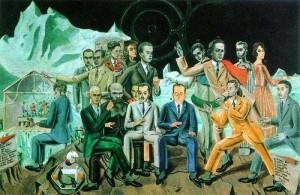 ernst - au rendez-vous des amis - 1922
