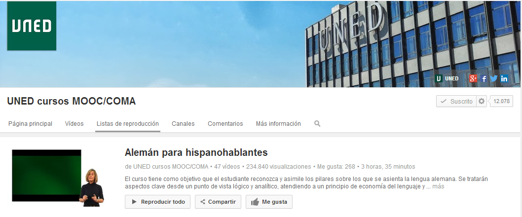 Alemán para hispanohablantes   YouTube
