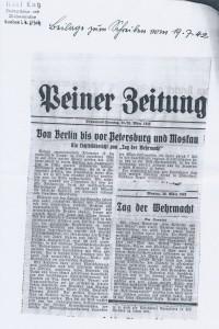 Zeitungsartikel 1942 2