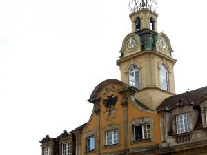 Das 1735 fertig gestellte Rathaus der Stadt Hall. | Foto: Leonard Dorn