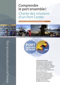 Couverture de la Charte des missions d'un Port Center. Source: AIVP