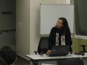 Valerie Pereira's presentation, Language Pathology Session