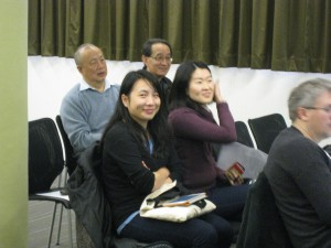 Yao Yao and Angel Chan, the main organisators of the Workshop
