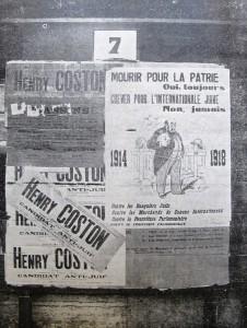 Affiches du candidat Coston aux élections municipales de 1935 (La Conscience des Juifs, 15 mai 1935)