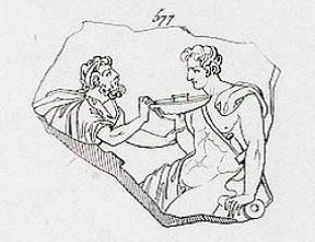 Figure 2 - Aubin-Louis Millin, Galerie mythologique (...), Paris, 1811, t. 2, n° 577, détail de la planche CLIII.
