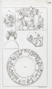 Figure 3 - Aubin-Louis Millin, Galerie mythologique (...), Paris, 1811, t. 2, n° 577, pl. CLIII.