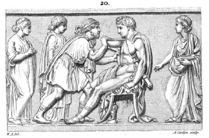 Figure 4 - Taylor Combe, A Description of the collection of Ancient Terracottas in the British Museum (…), London, 1810, n° 20, pl. XII.