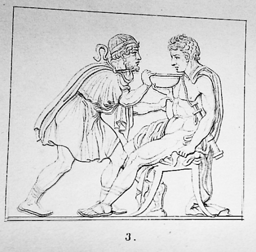 Figure 5 - Theodor Panofka, Bilder Antiken Lebens, Berlin, G. Reimer, 1843, pl. VII, n°3.
