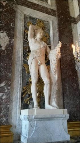 Figure 3 : Bacchus de Versailles, marbre, H. : 2,33m., MA 622, musée national du château de Versailles
