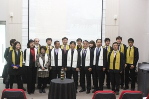 1st gratuated of the school in Korea