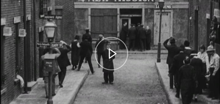 From Easy Street - Charlie Chaplin - Mutual 1917