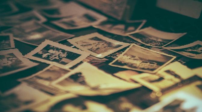 Collection de vieilles photographies