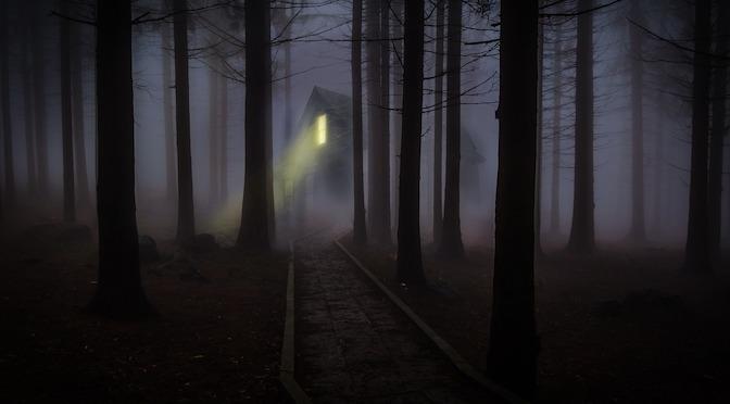 Maison perdue dans les bois